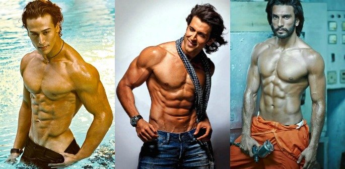 bollywood s best six pack abs desiblitz