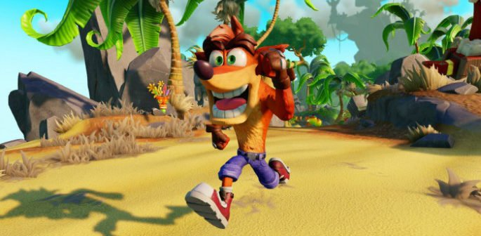 Crash Bandicoot Has Returned feature