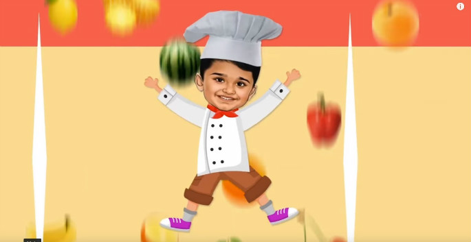 Facebook Pays $2,000 to 6 year old Chef for Making Mango Ice Cream 1