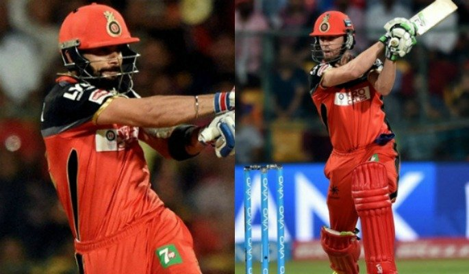 IPL Kohli and de Villiers