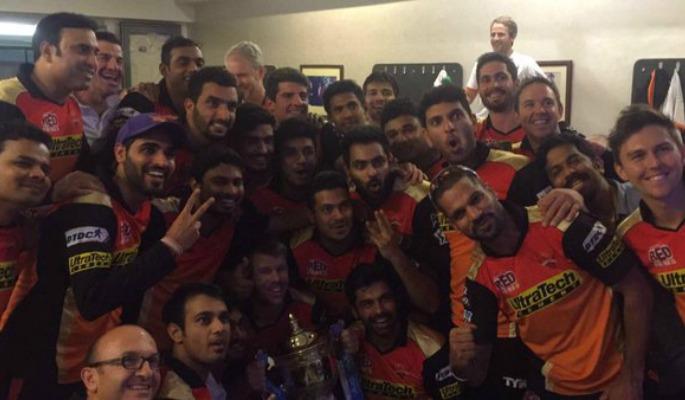 IPL Champions Sunrisers Hyderabad