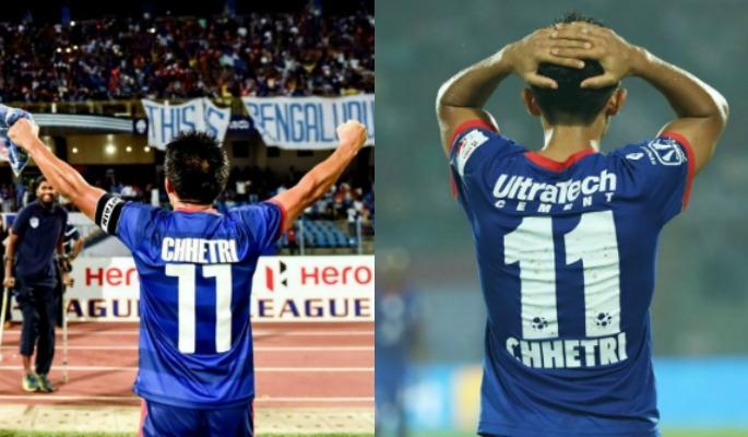Sunil Chhetri for Bengaluru FC and Mumbai City FC