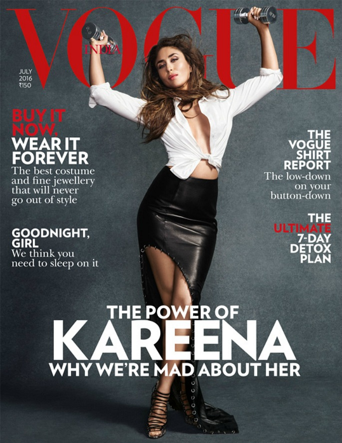 Kareena Kapoor turns Power Woman for Vogue India