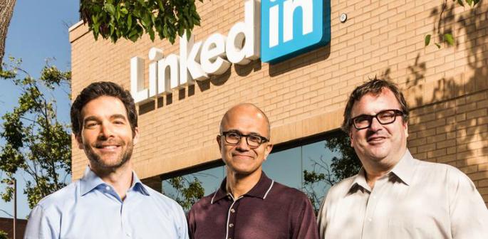 Microsoft buys LinkedIn for £18.5 billion