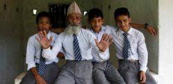 नेपाली दादा 68 साल की उम्र में स्कूल जाते हैं