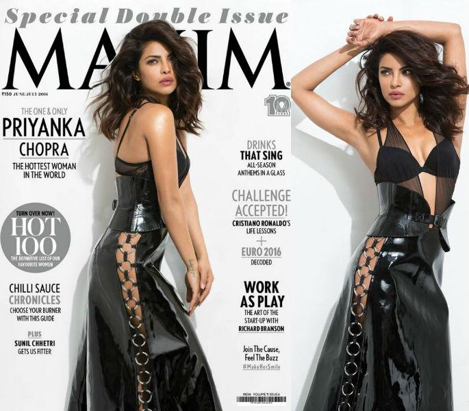 Priyanka Chopra tops Maxim India Hot 100