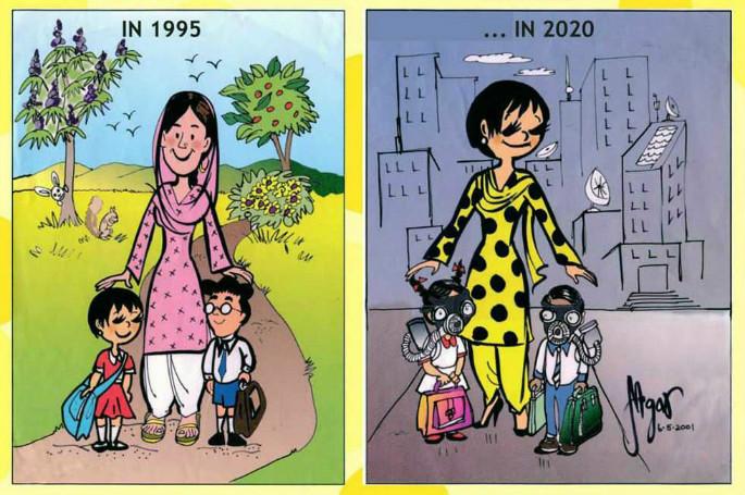 Pakistans First Female Cartoonist Nigar Nazar 2