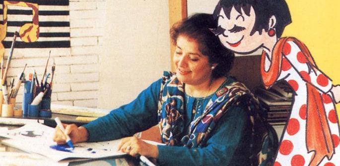 Pakistans First Female Cartoonist Nigar Nazar