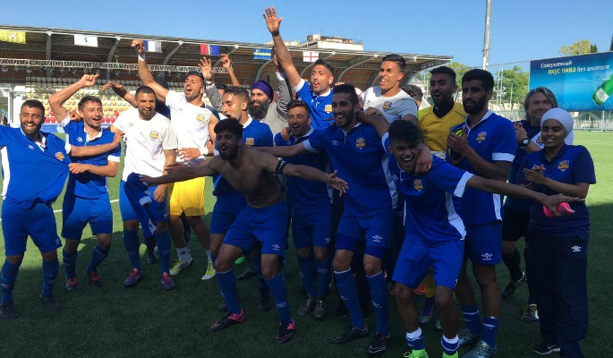 Panjab FA Semi Final Celebrations