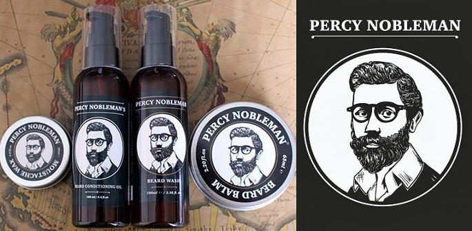 Percy Nobleman ~ Expert Beard Care for Men