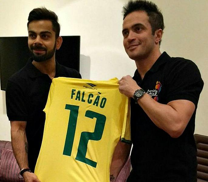 Premier Futsal Kohli and Falcao