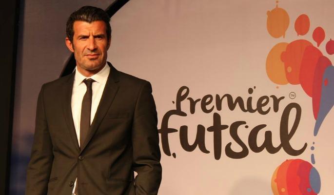 Luis Figo President of Premier Futsal