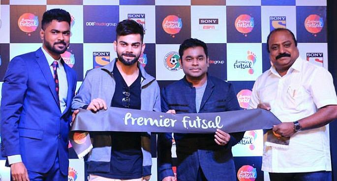 Virat Kohli to sing for Premier Futsal?