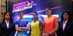 Women's Kabbadi Challenge 2016 makes Debut