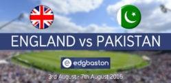 Win Tickets to watch England vs Pakistan at Edgbaston