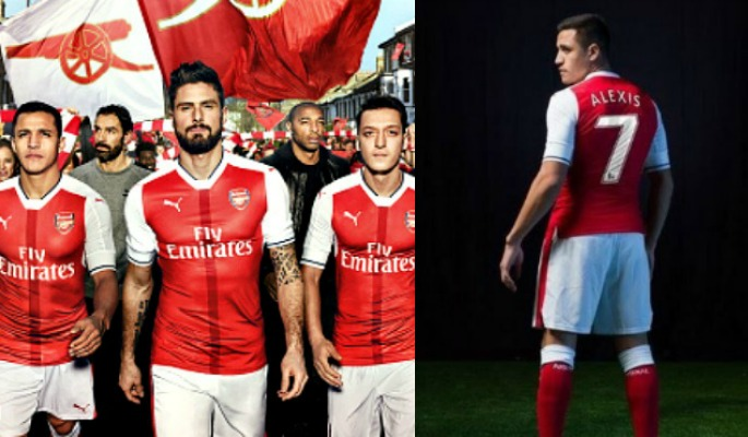 Arsenal 2016-17 Kit