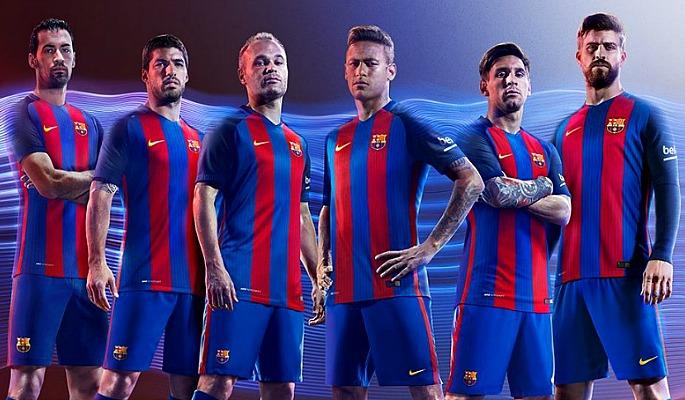 Barcelona Kit 2016-17
