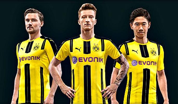 2016-17 Borussia Dortmund Kits
