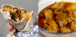 An Exotic Desi Fusion Burrito recipe