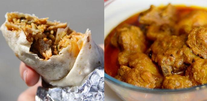 A bountiful Bangladeshi Burrito recipe