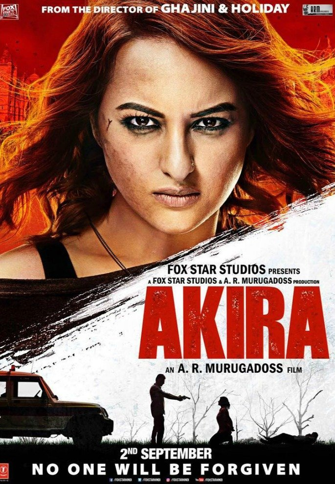 Sonakshi Sinha is a Feisty Tigress in Akira trailer