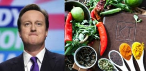 David Cameron enjoys Indian Food for Last Meal as PM