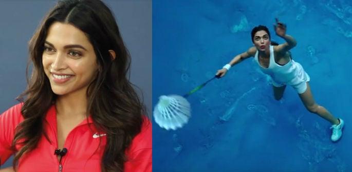 Deepika Padukone flaunts badminton skills in Nike Ad