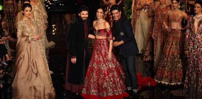 Deepika and Fawad Khan open India Couture Week 2016
