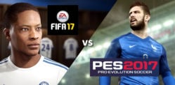 FIFA 17 vs Pro Evolution Soccer 2017