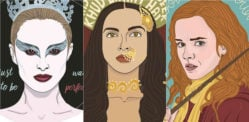 Indian artist honours Strong Female Film Characters