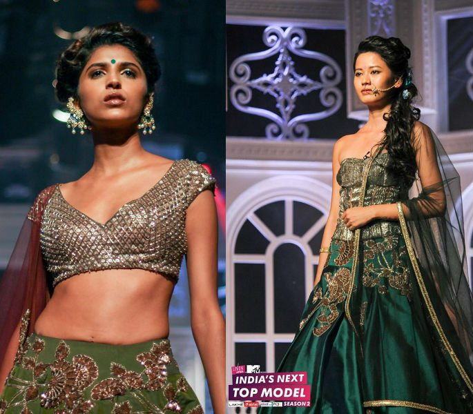 India's Next Top Model 2 in Dramatic Catwalk Show