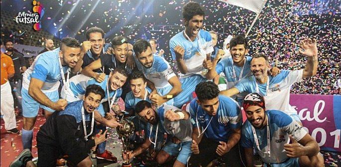Mumbai 5s are champions of 2016 Premier Futsal