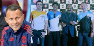 रयान गिग्स भारत की प्रीमियर फुटसल लीग में खेलते हैं