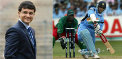 Sourav Ganguly ~ 5 Cricket Facts about Dada
