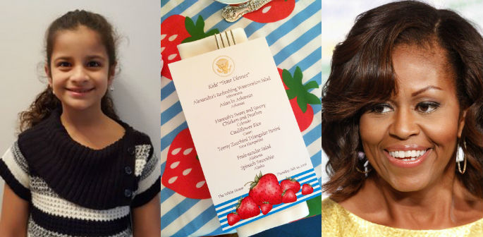 Young Indian Chefs meet Michelle Obama at State Dinner