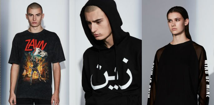 Zayn Malik Clothes Line inspired by Pakistani Heritage