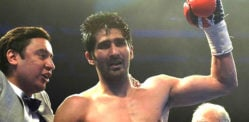 Vijender Singh beats Kerry Hope to win Pro WBO Title