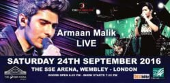 Win Tickets for Armaan Malik Live at Wembley
