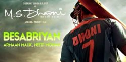 Amaal Malik creates Besabriyan for MS Dhoni biopic