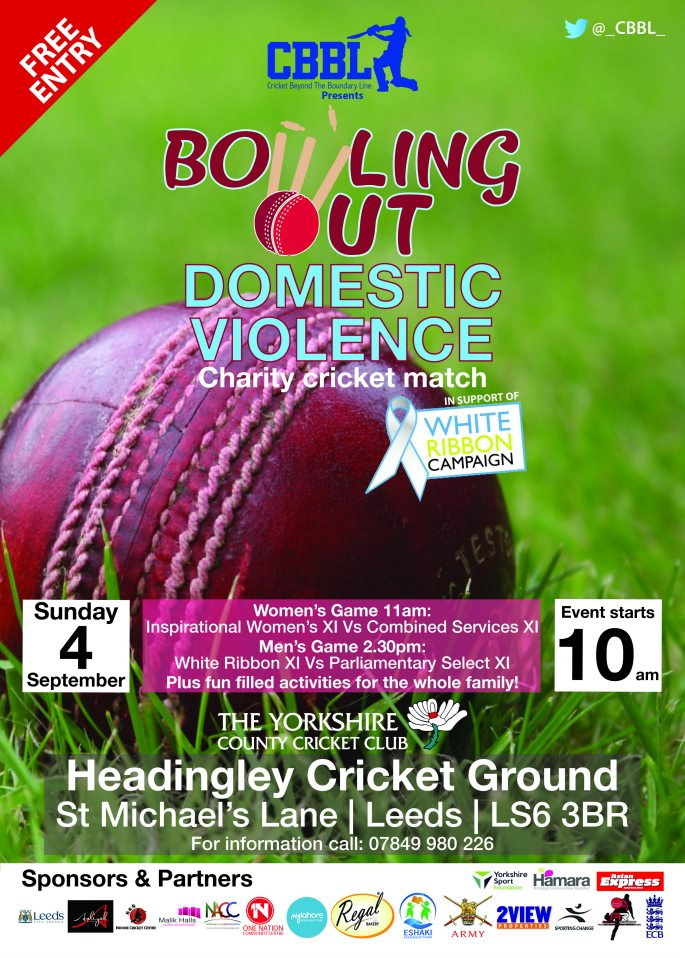 CBBL Cricket 2016 ~ Bowling Out Domestic Violence