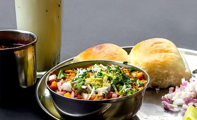 Desi-Breakfast-Mishal-Pav