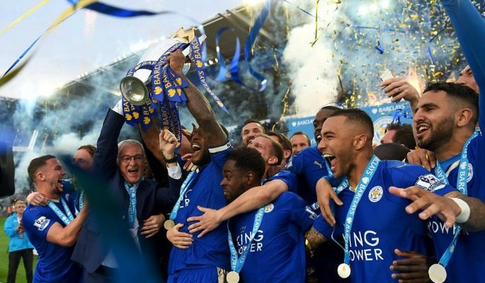 Leicester City won the 2015/16 Premier League season