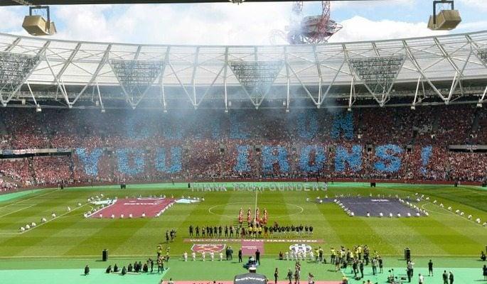West Ham move in to Olympic Stadium