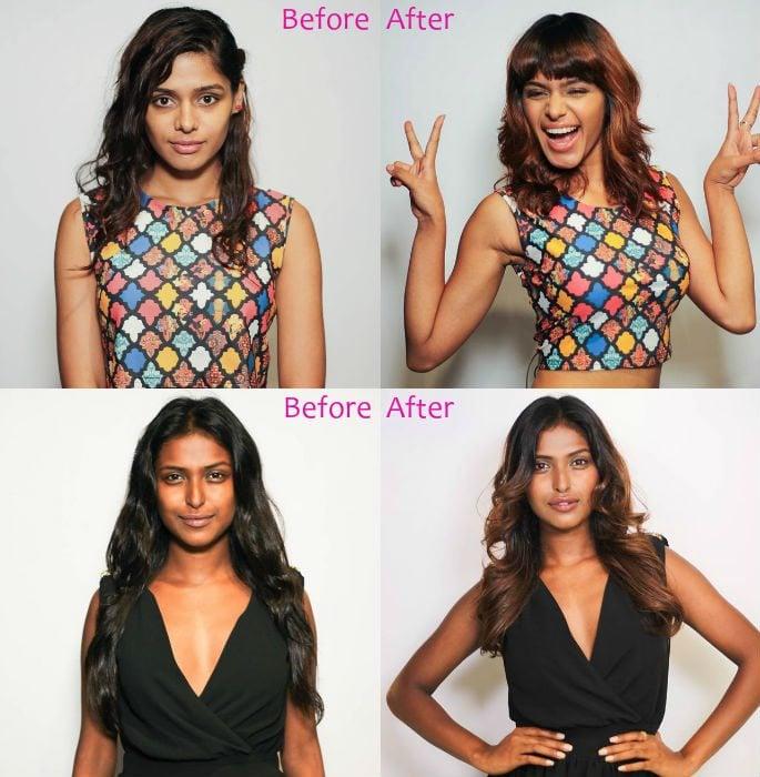 India's Next Top Model 2 enjoys Amazing Makeover | DESIblitz