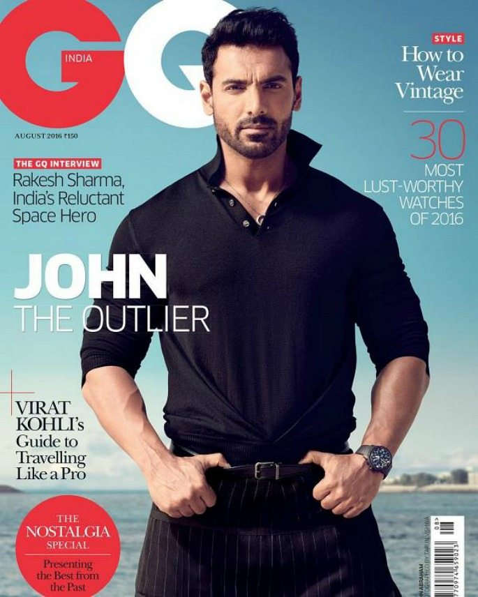 John Abraham rocks GQ India cover