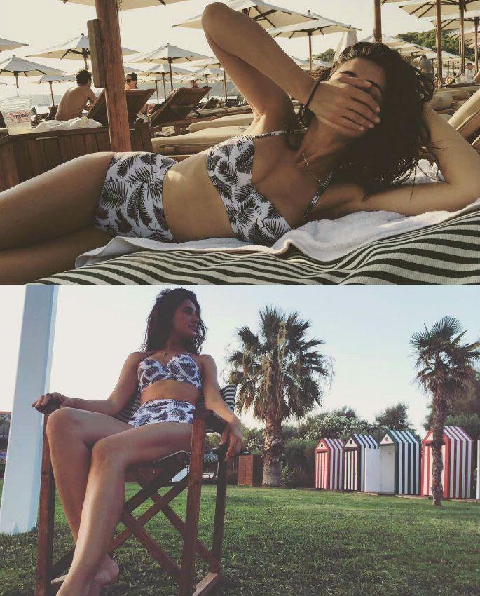 Nargis Fakhri enjoys sizzling vacation in Greece