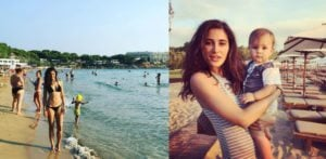 Nargis Fakhri enjoys sizzling vacation in Greece
