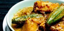 A Malabar Fish and Okra Curry recipe