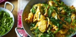 A Pakistani Chicken and Spinach Curry recipe