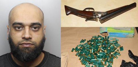 Asian Man jailed for 18 years for having Lethal Weapons